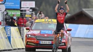 Koninginnenrit in de Dauphiné is kolfje naar de hand van sterke Mark Padun, Richie Porte is de nieuwe leider