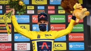 Het lijkt wel het Critérium du Dauphiné van de derde leeftijd: ritwinst voor Thomas en Valverde en nu de leiderstrui voor Richie Porte