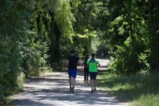 Jogging kan met drie mogelijke scenario's
