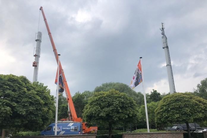 GSM-mast maakt plaats voor nieuw politiekantoor