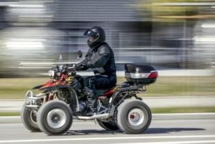 Controles op patsergedrag in Hasselt: quad rijdt 130 km/u en twee straatracers betrapt
