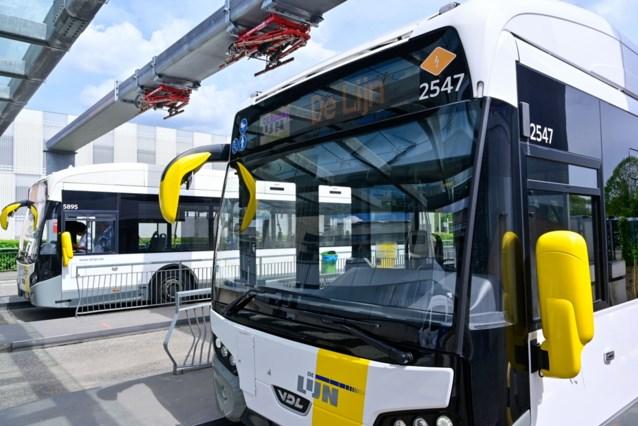 De Lijn gaat 350 elektrische bussen bestellen