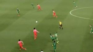 Zuid-Koreanen gaan uit hun dak: sterspeler Son pakt uit met dolle dribbel en leidt fantastisch doelpunt in