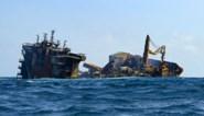 Slecht weer bemoeilijkt werkzaamheden aan uitgebrand vrachtschip voor kust Sri Lanka