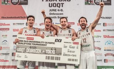 3X3 Belgian Lions door de grote poort naar Tokio: tweede belgische basketbalploeg naar Olympische Spelen