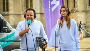 """""""Studeren doe je niet alleen"""", dus komen MNM-dj's Sander en Laura in elke Vlaamse gemeente langs tijdens Marathonradio"""