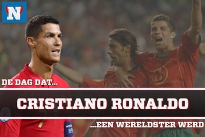 De dag dat Cristiano Ronaldo een wereldtopper werd: in de halve finale tegen Nederland vonden Luis Figo en een 19-jarig wonderkind elkaar