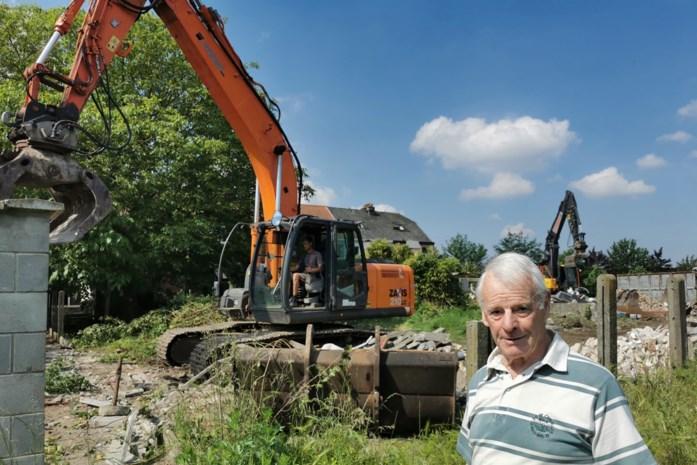 """Afbraak leegstaande woningen in Blaironstraat gestart: """"Wat er in de plaats komt, hangt af van herinrichting Ring"""""""