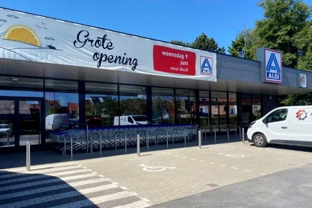 """Aldi Mariakerke gaat na vier maanden verbouwen terug open: """"Groter en duurzamer"""""""