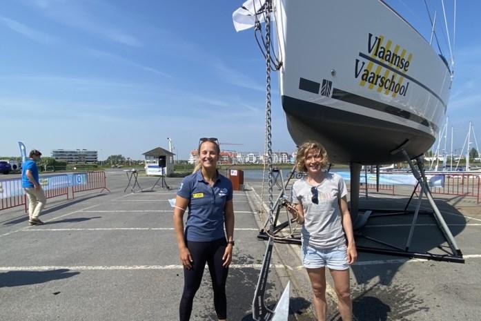 Vlaamse Vaarschool gaat letterlijk in zee met 'Imke': nieuwe zeilboot genoemd naar voetbalster en meter Imke Courtois