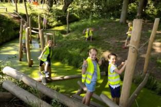 Kinderen gaan uit de bol in avontuurlijke speelzone aan Hof d'Intere