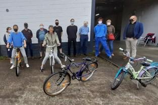 Bibliotheek zonder boeken, maar wel met fietsen