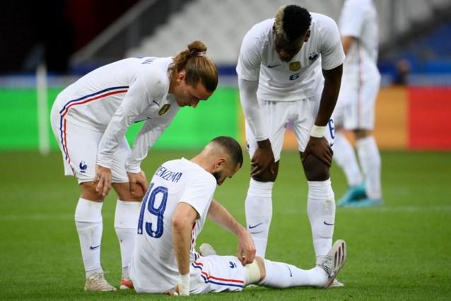 Paniek voor niks: Karim Benzema geraakt speelklaar voor openingsduel tegen Duitsland