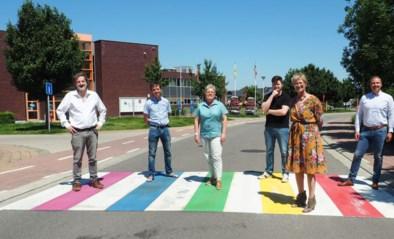 Gemeente laat nieuwe regenboogzebrapaden schilderen