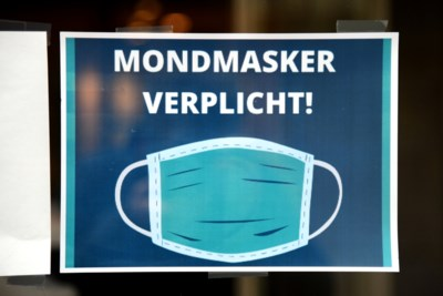 Mondmasker niet langer verplicht in winkelstraten