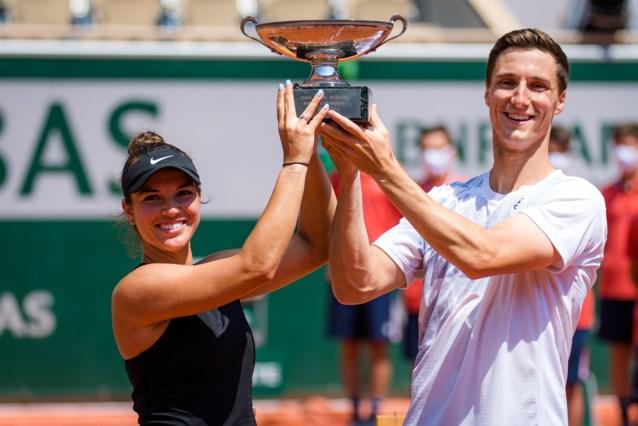 Brit Joe Salisbury en Amerikaanse Desirae Krawczyk winnen gemengd dubbel op Roland Garros
