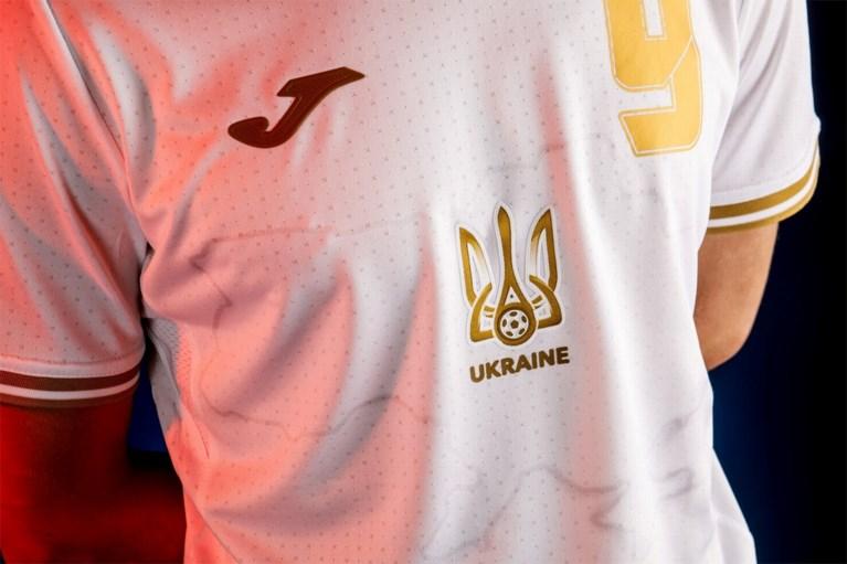 """Oekraïne legt zich niet neer bij gedwongen aanpassing van """"politiek"""" shirt voor EURO 2020 na klacht van de Russen"""