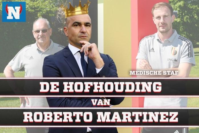 """DE HOFHOUDING VAN MARTINEZ. Dit is de medische staf van de Rode Duivels: """"Alderweireld heeft de spieren van een klassieke coureur"""""""