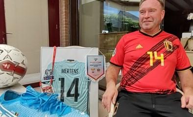 """Deze Belgische superfan reist al 23 jaar de Rode Duivels achterna en is klaar voor het EK: """"Een match missen? En wat als het dan 4-3 wordt?"""""""