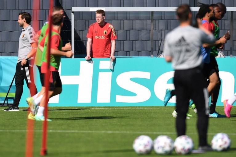 """Kevin De Bruyne reist niet mee naar Rusland voor eerste EK-wedstrijd: """"Ik hoop op tweede match"""""""