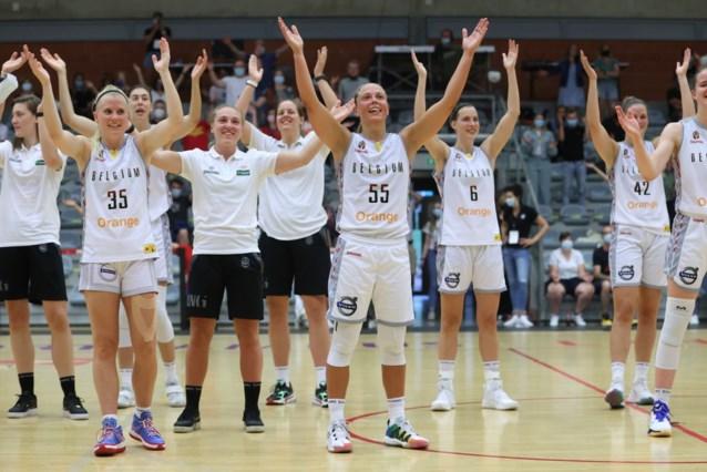 """Belgian Cats winnen met publiek in de tribune van Griekenland, maar: """"We zijn nog niet volledig in EK modus"""""""