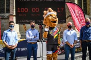 """Grote aftelklok toont nog honderd dagen tot WK wielrennen: """"We hopen op véél publiek, zonder beperkingen"""""""