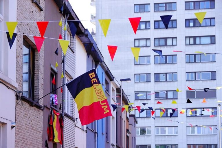 """Deze Gentenaars zijn duidelijk klaar voor het EK: """"Rode Duivels brengen de buurt samen"""""""