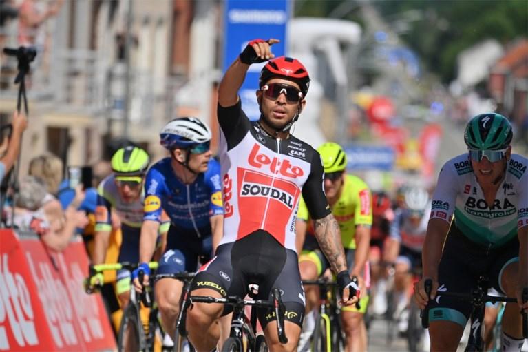 Caleb Ewan wint met veel machtsvertoon sprint in Baloise Belgium Tour