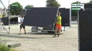 EK-dorp aan Dusartplein in Hasselt kan 400 voetbalfans ontvangen
