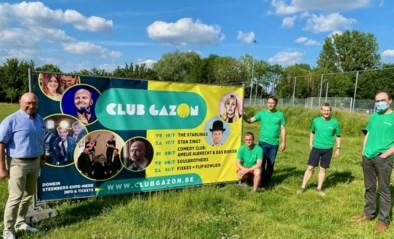 """Club Gazon vormt (betalend) alternatief voor Zomerconcerten: """"Blikvangers zijn Stan Van Samang en Filip Kowlier"""""""