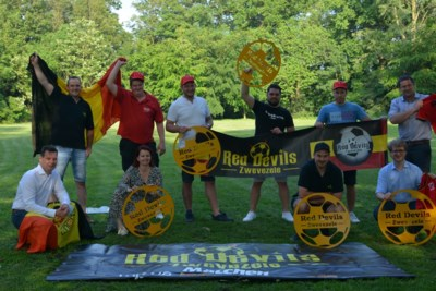 Olé, olé, olé! Kasteelpark wordt voetbaldorp voor supporters Rode Duivels