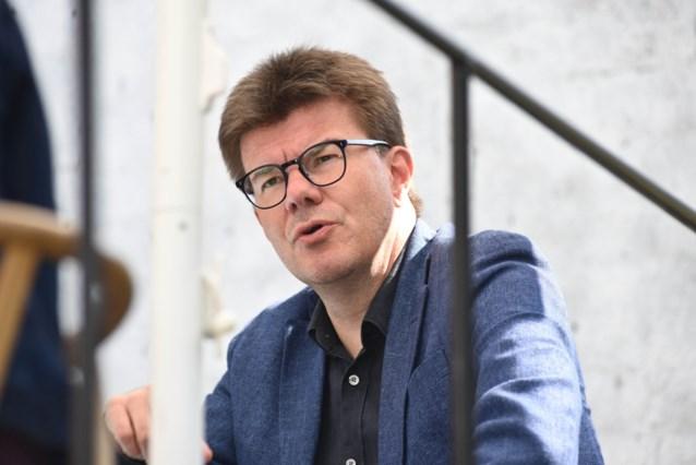 Politie verwijdert kamp van vakbonden voor kabinet van Brussels begrotingsminister Sven Gatz