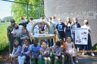 Leerlingen bedachten pandamachine die hen helpt bij tekenen en kleuren