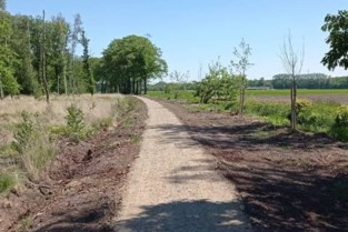 Pad naast Hooibeek is weer open na heraanleg