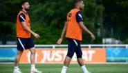 Welk relletje? Mbappé en Giroud vinden elkaar weer blindelings op training bij Frankrijk