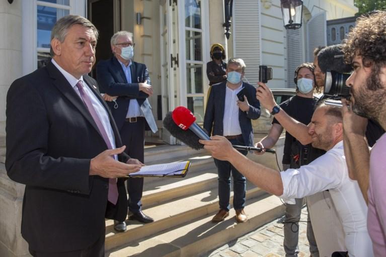 """N-VA'ers Zuhal Demir en Jan Jambon in de clinch voor ministerraad: """"Ik te voortvarend? Na 20 jaar?"""""""