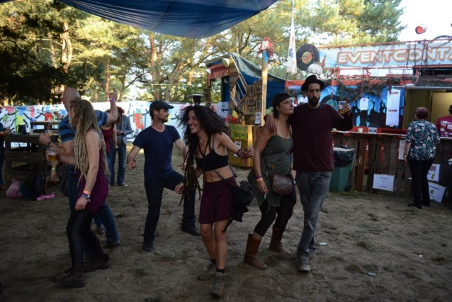 Fiesta Mundial in september tussen zandduinen van de Keiheuvel