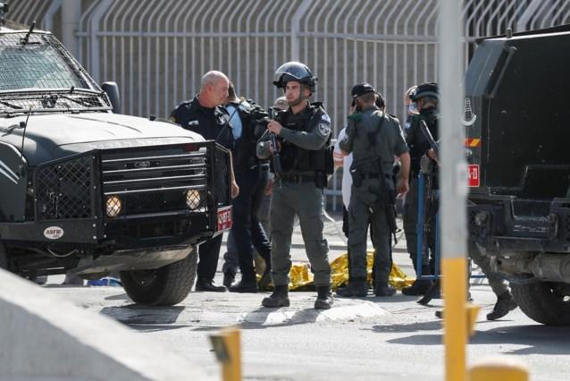 Vrouw met mes doodgeschoten door Israëlische grenswacht