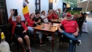 Samen voor de Rode Duivels supporteren op het terras van Parkheide