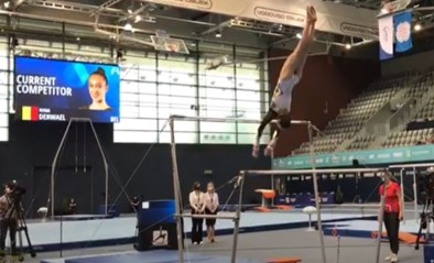 Geslaagde comeback: goud voor Nina Derwael op Wereldbeker turnen