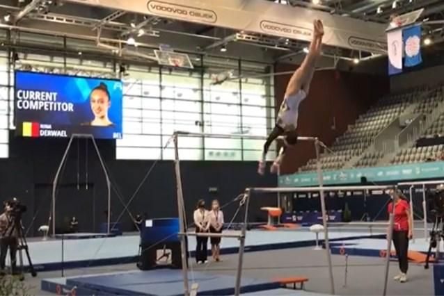 Een geslaagde comeback na 20 maanden zonder topwedstrijd: goud voor Nina Derwael op Wereldbeker turnen