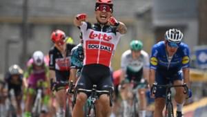 Twee op twee voor Caleb Ewan in Baloise Belgium Tour: Australiër overleeft de bergjes en sprint naar zege