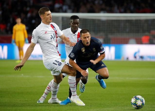 Thomas Meunier had aanvaring met Real Madrid-voorzitter Florentino Pérez na blessure Eden Hazard