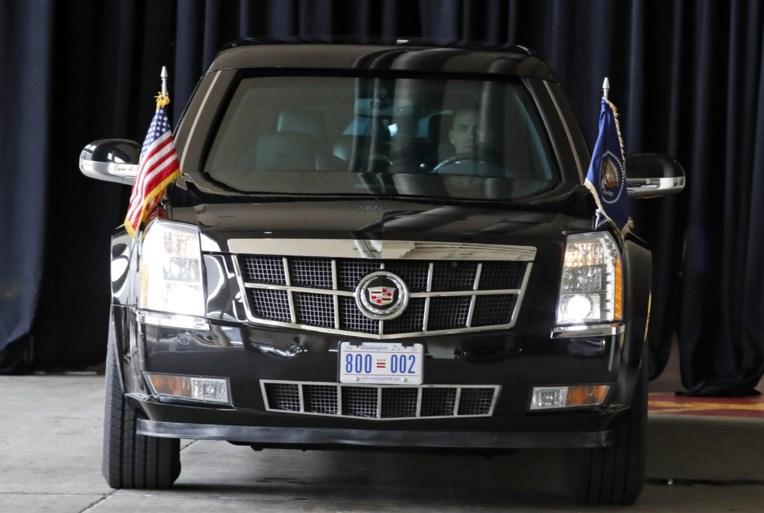 Straks te bewonderen in ons land: The Beast is op alles voorzien, hij kan alleen geen verkeersdrempel nemen