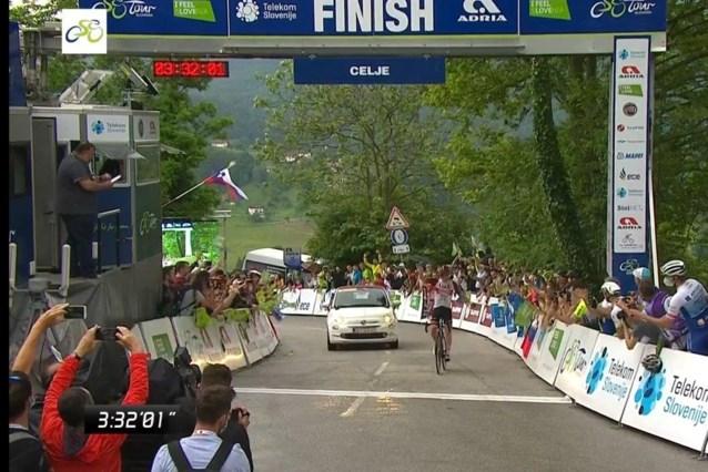 Pogacar loodst ploegmaat Ulissi naar ritzege in Ronde van Slovenië