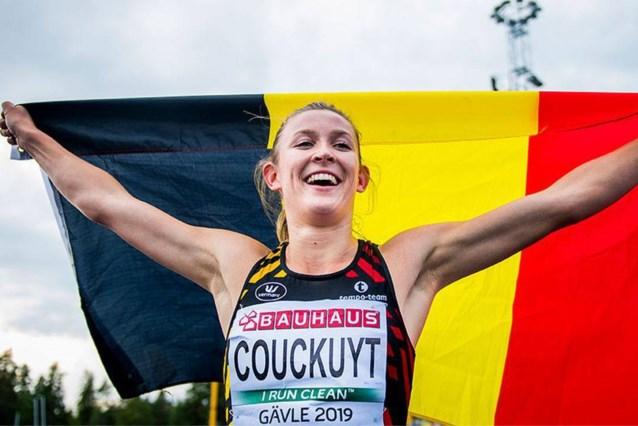 'Container Cup'-winnares Paulien Couckuyt evenaart 25 jaar oud Belgisch record op 400 meter horden
