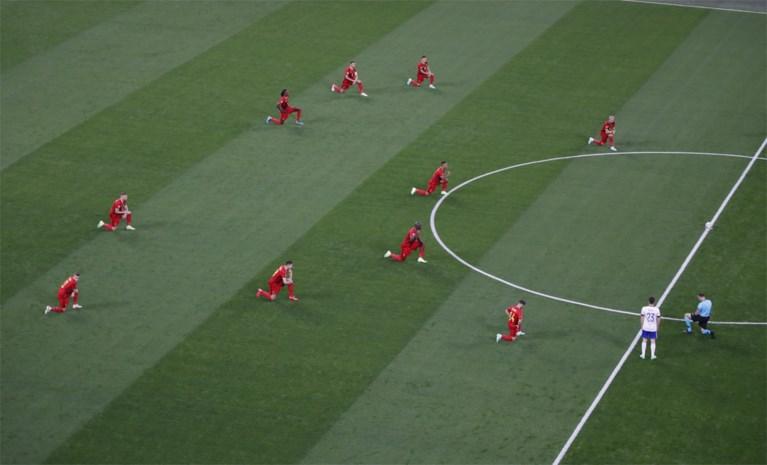 Russisch publiek fluit knielende Rode Duivels massaal uit, UEFA steunt boodschap en veroordeelt boegeroep