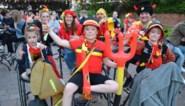 Bezoekers Huis l'Apétit zien Rode Duivels winnen
