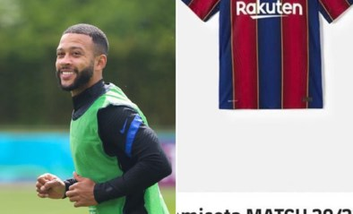 Barcelona blundert: shirt van transferdoelwit Memphis Depay al te koop