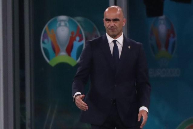 """Ook bondscoach Roberto Martinez zit met gedachten bij Christian Eriksen: """"We gingen net aan de wedstrijdbespreking beginnen"""""""